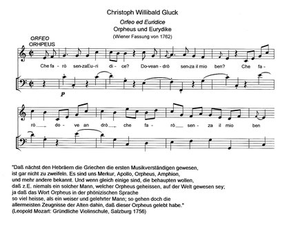 Christoph Willibald Gluck | Lydisch