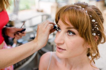 Natürliches Make-up auf dich abgestimmt.