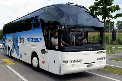 GC Mannschaftsbus