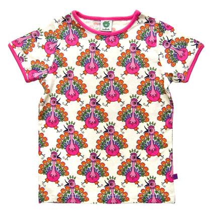 Smafolk Shirt Pfau Regenbogen