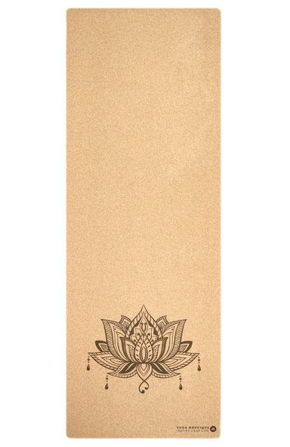 Yogamatte Kork Lotus
