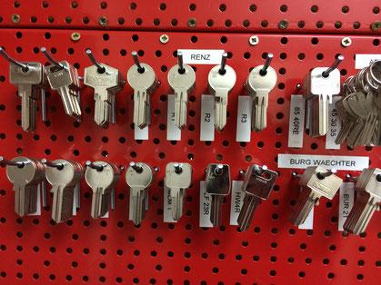 Nachschlüssel aller Art