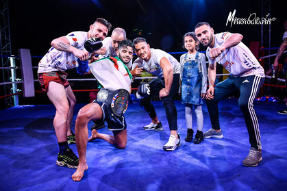 Akram Hamidi (France) win Muay Thai Show Champion Belt