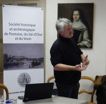 Jean-Claude Lescure, professeur des Universités en histoire contemporaine à l'université Cergy-Pontoise