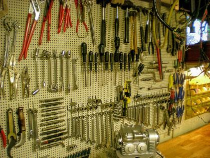 工房の工具画像