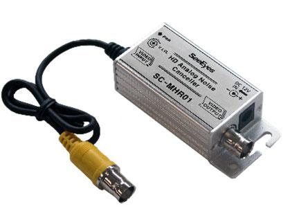 アナログ/AHD/TVI/CVI方式用電位差ノイズ除去装置 電位差ノイズ除去機 SC-MHR01 - 製品写真