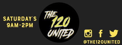 The 120 United returns next Friday at 6pm! (Central Time)