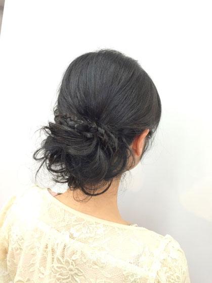 横浜・日吉・菊名・美容室☆女性の笑顔を作る専門家☆美容家 奥条勇紀 幸せあやかりヘアセット