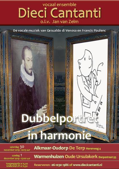 Poster Concert 'Lied van de Ziel'