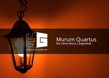 Murum Quartus, Die vierte Wand, Langenthal
