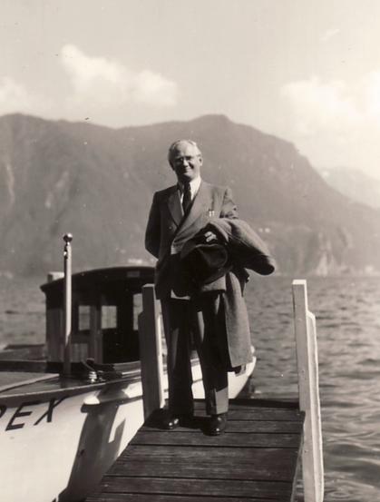 Hanns Heinen am Lago Maggiore, 1960