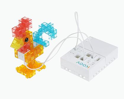 ロボットプログラミング授業例の「ニワトリ」の画像