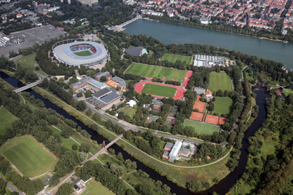 Der Sportpark in Hannover (Fotonachweis: Frank Wilde)