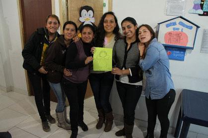 Mädchen aus einem Projekt des deutschen CVJM