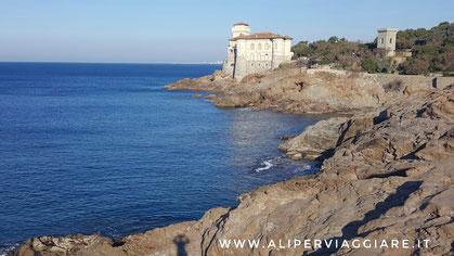 Calafuria; il panorama più conosciuto della Costa degli Etruschi