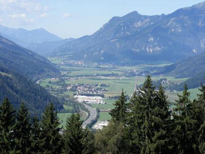 In der Obersteiermark liegt das langgestreckte Liesingtal, inmitten von viel Wald und Wiesen ...