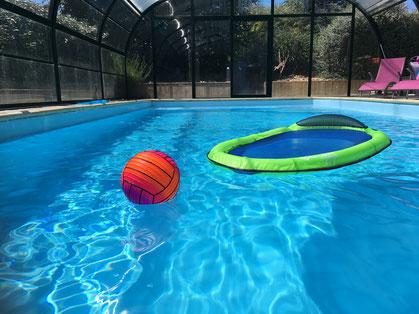 La piscine des gîtes Armor Cottage