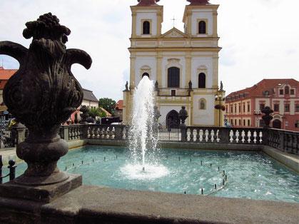 Stadtbrunnen auf dem Markt