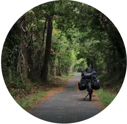 voyager à vélo seul
