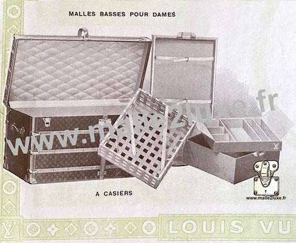Page 11 - Louis Vuitton 1914 Catalog - Ladies' low trunk