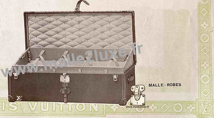Page 12 - Catalogue Louis Vuitton 1914 - Malle robes
