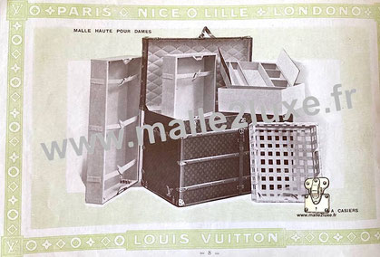 Page 8 - Louis Vuitton 1914 Catalog - High trunk for ladies