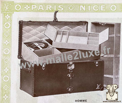 Page 16 - Louis Vuitton 1914 Catalog - Men's trunk