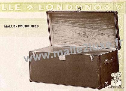 Page 12 - Catalogue Louis Vuitton 1914 - Malle fourrures
