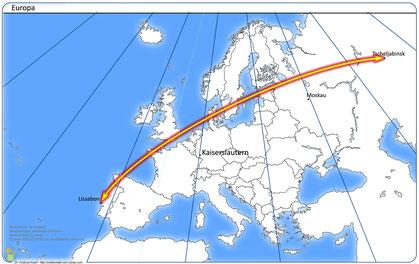 Karte 1: Europa
