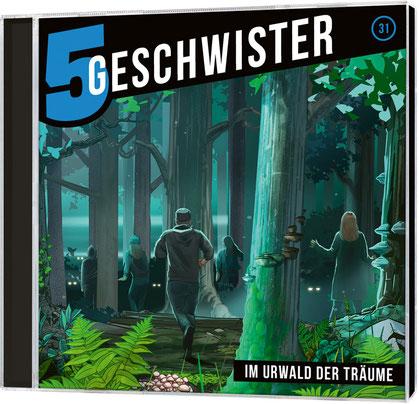 CD-Cover 5 Geschwister - Im Urwald der Träume
