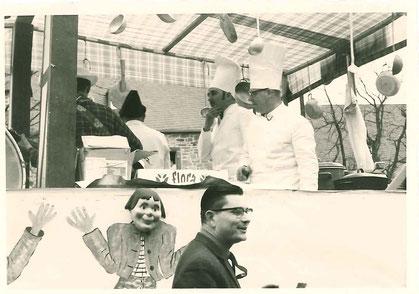 Küchenwagen in den 60ér Jahren