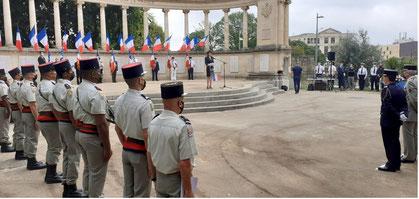 Journée nationale d'hommage aux harkis et autres membres des formations supplétives à Montpellier le 25 septembre 2021 anocr34.fr