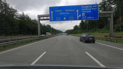 Fahrt zum Ratzeburger See