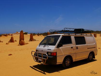 Kimberley im Pinnacle Desert