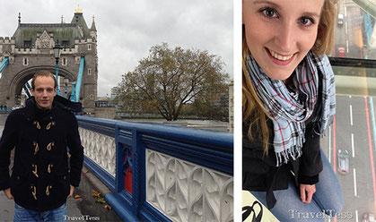 Bezoek aan Londen Tower Bridge