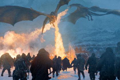 Zur Freude des einfachen Volkes veranstalten die Targaryen ein jährliches Feuerwerk.