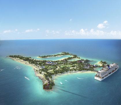 Ocean Cay Marine Reserve | © MSC Kreuzfahrten