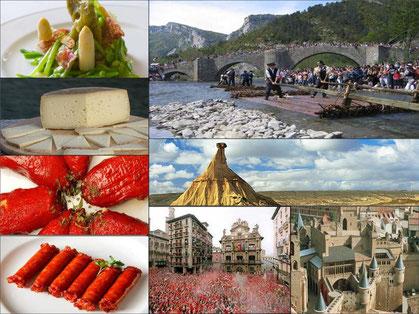 Navarra, diversidad cultural, geográfica y gastronómica