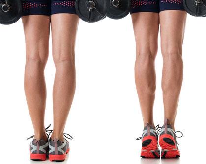 legs exercises standing calf raises