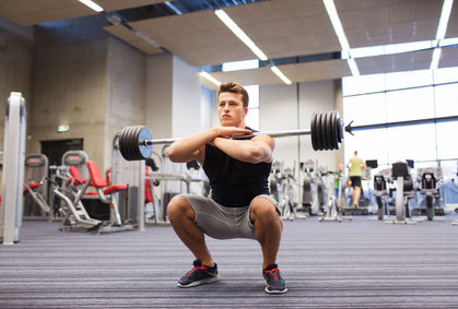 leg exercises front squat