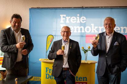 v. l.: Mathias Richter, Robert Heinze, Hubert Schulte-Kemper