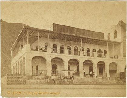 L'Hôtel de l'Univers, ad Aden, dove soggiornò Rimbaud