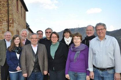Vertreter der Landeskirchen der Evangelischen Kirche in Deutschland trafen sich auf der Ebernburg zur Bundestagen des Evangelischen Dienstes auf dem Land