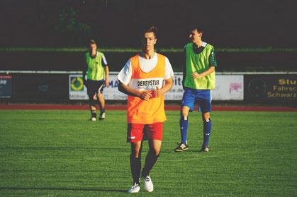 Maxi Hanich zum Trainingsauftakt