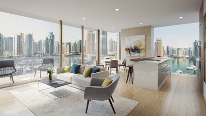 West Avenue Tower,   Dubai Marina