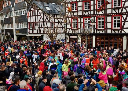 Rosenmontag bei der Ahrweiler Karnevals-Gesellschaft