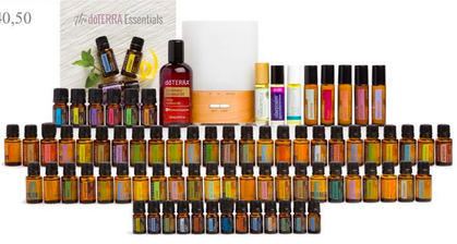 doterra every oil Essential Oils Collection KIT neue doterra Sets 2018, Jasmin, Neroli, Rose, Copaiba, Terraoele, doterra oele online bestellen