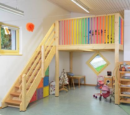Zwischenboden für Schulen
