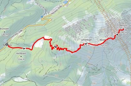 Pyhrnpass - Fuchsalm - Lahnerkogel - Kitzstein - Bosruck