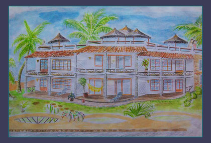 6 Apartments Idear and draw by Nimra Mhad
